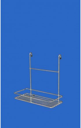 Wire kitchen Shelf, chrom 1