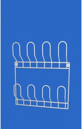 Wall shoe rack for 4 pairs of shoes