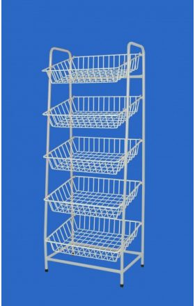 Wire rack 750 with five baskets