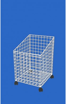 Wire basket for wash, mobile