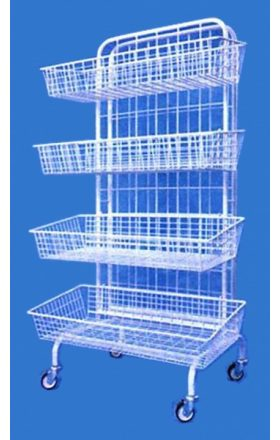 Purchase wire stand with wheels