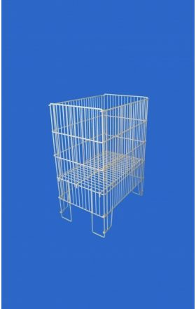 Small wire container for goods