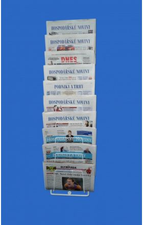 Hanging holder for newspapers 10 pcs