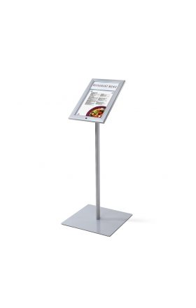 Outdoor lockable illuminated LED Menu Stand 1xA4
