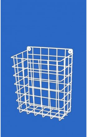 Wire sanitary basket
